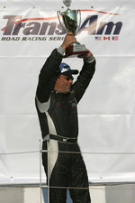 Podium: GT-1 class winner Paul Fix II