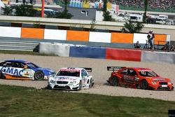The crash of Marcel Fassler, Alexandros Margaritis and Stefan Mücke