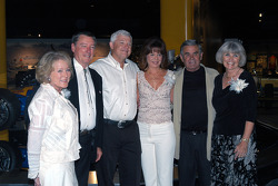 Johnny and Betty Rutherford, newlyweds Wyatt and Joyce Swaim, and Al and Susan Unser