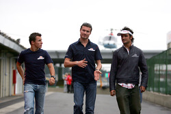 Christian Klien, David Coulthard and Vitantonio Liuzzi