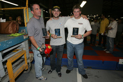 Third place team: Marino Franchitti and friends