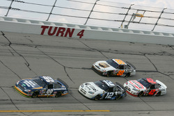 Carl Edwards, Ryan Newman, Jamie McMurray and Dale Jarrett