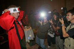 Mitsubishi media event: Harri Rovanpera