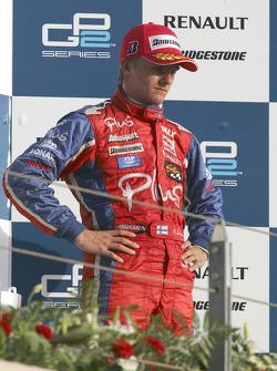Podium: Heikki Kovalainen