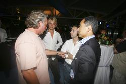 Nicolas Todt, Keke and Nico Rosberg
