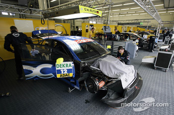 Team OPC garage area