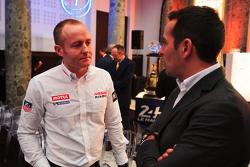 Olivier Pla, Nissan Motorsport and Benoit Tréluyer, Audi Sport