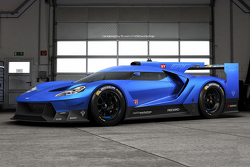 Ford GT Le Mans fictional livery