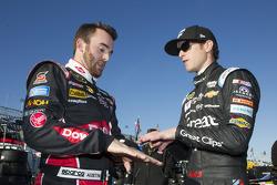 Austin Dillon, Richard Childress Racing Chevrolet and Kasey Kahne, Hendrick Motorsports Chevrolet