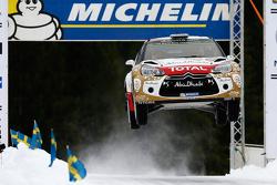 Kris Meeke and Paul Nagle, Citroen DS3 WRC, Citroen Total Abu Dhabi World Rally Team