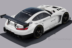 Speculative render of Mercedes-Benz AMG GT3 by http://fb.com/rc82workchop