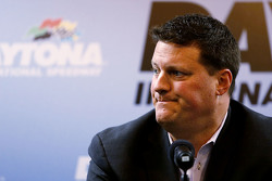 NASCAR Senior Vice President Steve O'Donnell talks about adding SAFER barriers to the track following Kyle Busch's crash