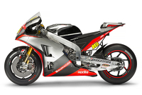 Bike of Alvaro Bautista, Aprilia Racing Team Gresini