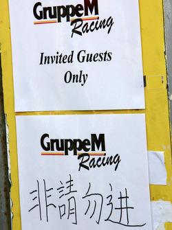 Team Gruppe M hospitality