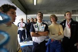 Dr Mario Theissen and Sebastian Vettel