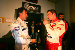 Jean Alesi and François Duval