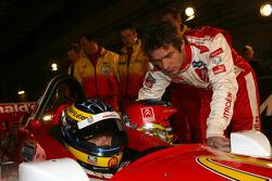 Sébastien Bourdais and Sébastien Loeb