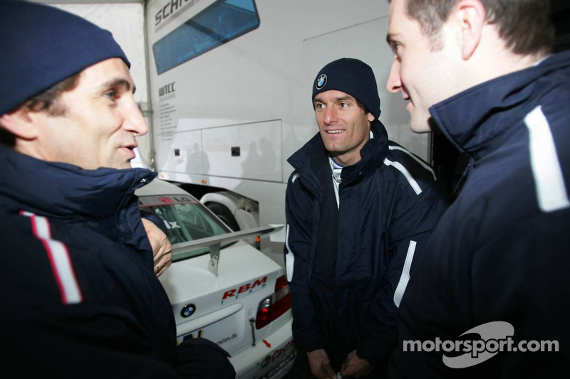 Alex Zanardi and Mark Webber