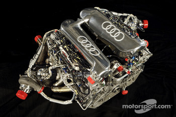 The V12 TDI powerplant of the new Audi R10