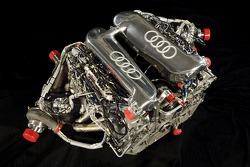 The V12 TDI powerplant of the new Audi R10