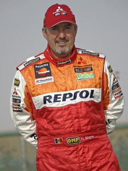 Team Repsol Mitsubishi Ralliart: Henri Magne