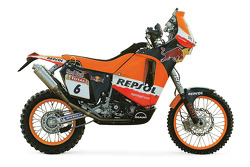 The Repsol Red Bull KTM of Giovanni Sala