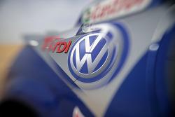 Volkswagen Motorsport: detail of the Volkswagen Race Touareg 2