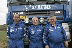 Team de Rooy: Jan de Rooy, Dany Colebunders and Robert van den Broek