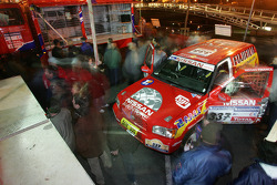 Team Nissan Dessoude public presentation: fans have a look at the Team Nissan Dessoude vehicles