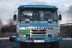 Tomas Tomecek Letka Racing Team leaves for Lisbon: the Livescore Tatra 815 Dakar Terrno