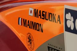 Detail of Hiroshi Masuoka's Mitsubishi Pajero Montero Evolution MPR12