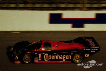 #1 Foyt Porsche 962: A.J. Foyt, Al Unser Jr., Elliot Forbes-Robinson