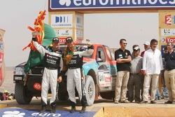 Car category podium: Carlos Sousa and Jean-Marie Lurquin