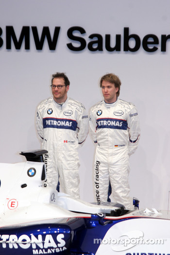 Jacques Villeneuve and Nick Heidfeld