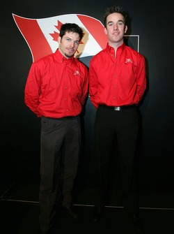 Patrick Carpentier and Sean McIntosh