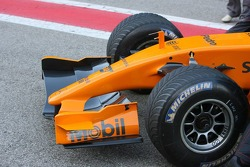 Details of the McLaren MP4-21