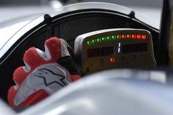 Rinaldo Capello behind the wheel of the Audi R10