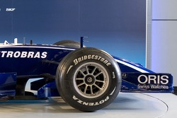 Detail of the new Williams FW28