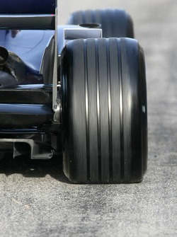 Michelin tire on the Red Bull Racing