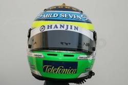 Helmet of Giancarlo Fisichella