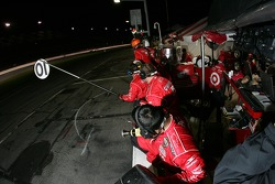 Chip Ganassi crew members ready for a pitstop