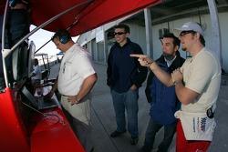 Tom Milner, Bryan Sellers and Justin Marks