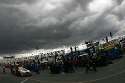 Menacing sky over Daytona