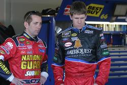 Greg Biffle and Carl Edwards