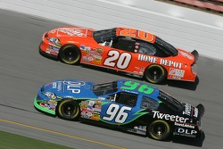 Tony Stewart and Terry Labonte