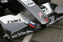 Detail of the MF1 Racing