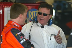 Jeff Burton and Richard Childress