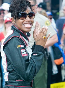 Recording artist and American Idol winner Fantasia would sing the National Anthem