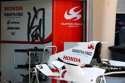 Super Aguri F1 pit area