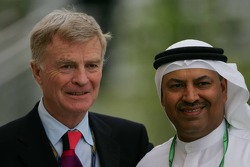 Max Mosley with a VIP